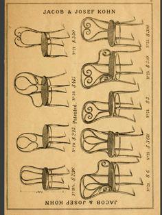 Thonet Catalogue Jacob Josef Kohn 1904 1907 Kohn History