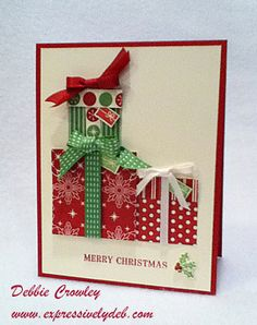 Christmas Gifts by deb2stamp - Cards and Paper Crafts at Splitcoaststampers