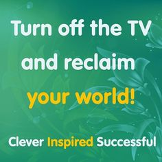Turn off the #television and reclaim your #world     #clever #inspired #successful #cleverinspiredsuccessful #success #tips #attitude #entrepreneur #motivation #greatness #quality #pray #millionaire #entrepreneurs #entrepreneurship #money #luxury #goals #business #coach #businesswoman #mindset #ambition #hustle #businessman #rich #wealth #inspiration Get updates and special offers on Instagram http://ift.tt/1W9wMhj Twitter http://twitter.com/Clever_Inspire Like and share our official…
