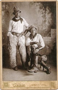 Old cowboy photo