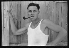 Untitled photo, possibly related to: Truck driver, Seminole oil field, Oklahoma. Aug Library of Congress Prints and Photographs Division. Grapes Of Wrath, Dust Bowl, Library Of Congress, Oklahoma, Trucks, Smoke, Oil Field, Photographs, Photos