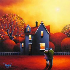 David Renshaw, British painter, was born in Southport, England. He always had love of painting from an early age, and after finishing school he went to college to study graphic design before starting a career as a picture framer. During this time David continued to develop his painting skills producing mainly commissioned art and in 2005 he dedicated himself to painting full time. Working from his studio in Southport,