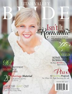 Utah Valley Bride, Summer 2012. By Tamara Elise Photography. #vintagedress #wedding