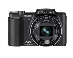 """CASIODigital Camera EXILIM Black EX-H50BK by Casio. $349.89. <> the premium auto <> which one """"25 mm of 24 times as much optical high zoom & wide angle"""" <> ideal photographed beautifully copies while preventing camera shake -- """"art shot]"""" which can take an individual photograph easily /"""