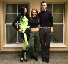 Shego, Kim Possible, und Ron Stoppable