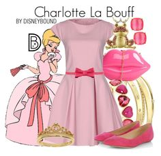 Charlotte La Bouff by leslieakay on Polyvore featuring Ter Et Bantine, Sergio Rossi, Elizabeth and James, Liz Claiborne, Eternally Haute, DB Designs, Kate Spade, RED Valentino, disney and disneybound