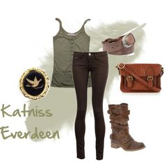 Katniss Everdeen, created by labellavita688.polyvore.com