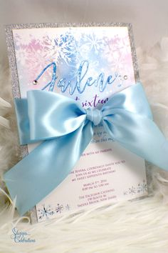 New to SDezigns on Etsy: Modern Winter Wonderland Invitation Sweet 15 Invitations, Quince Invitations, Quinceanera Invitations, Shower Invitations, Bat Mitzvah, Printable Invitation Templates, Invitation Ideas, Business Invitation, Invitation Wording