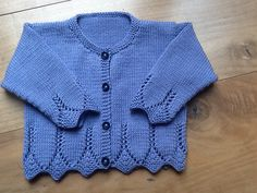 Ravelry: Project Gallery for Saskia's Lace Detail Cardigan pattern by Debbie Bliss