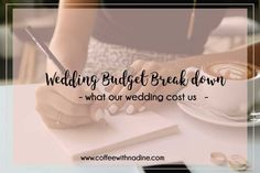 Wedding Budget Break Down, What our wedding cost us. An South African wedding. #weddingbudget #affordablebudget, #wedding #budget