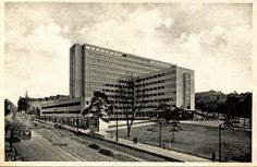 Palác Všeobecného penzijního ústavu, Karel Honzík & Josef Havlíček, Prague, Czechoslovakia 1934