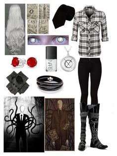 """Creepypasta: Daughter of Slender Man"" by ender1027 ❤ liked on Polyvore featuring Barbara I Gongini, Alexander Olch, NARS Cosmetics, Bling Jewelry and Sif Jakobs Jewellery"