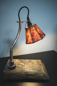 "Table lamp with shade by ""PRIDE&JOY"" #loft #gift #handmadeisbetter #tablelamp #prideandjoyworkshop #present #handmade #giftforman #design #homedesign #BuyDifferently #calledtobecreative #favehandmade #craftsposure #handcrafted #etsy #handmadegifts #homeinthestudio #madebyhand #makersmovement #handmadeseller #thenativecreative #gift #handmadeua #handmadeukraine #lamp #etsy #лампа #настольнаялампа #подарок #edison #edisonlamp"