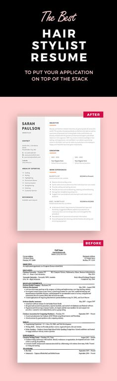 Porter Resume Example  Creative Resume Design Templates Word