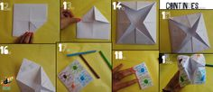 How to make a cootie catcher :  part 2