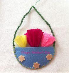 Make a Cute Little Basket of Flowers