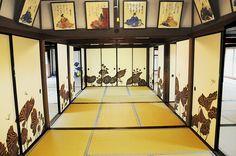 京都(Kyoto)青蓮院の襖絵    木村英輝さん作