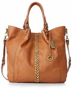 $218 Lucky Brand Charlotte Tote - Impulse Brands - Handbags & Accessories - Macy's