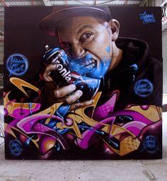 Le street-art hypra-réaliste de Smug !