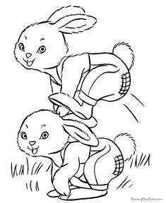 easter bunny coloring pages easter bunny kids free printable easter bunny coloring pages