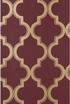 UrbanOutfitters.com > Marrakesh Wallpaper - Maroon