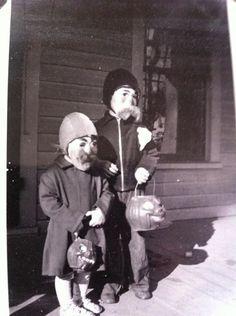 Creepy Vintage Halloween 50's
