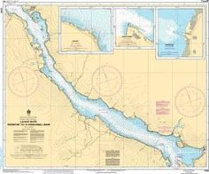 CHS Nautical Chart 4395: LaHave River - Riverport to/à Conquerall Bank
