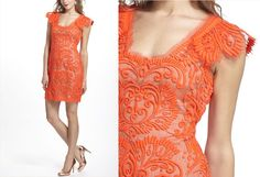 Anthropology Sunblaze Lace Dress too bad it's not longer :/