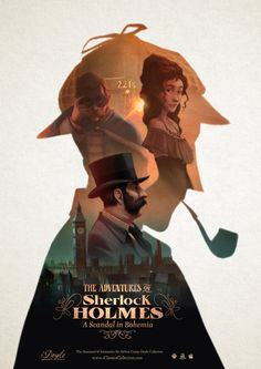 Sherlock Holmes: A Scandal in Bohemia. The immersive book. illustrations by Jordi Solano | OST by Miquel Tejada