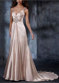 CHARMEUSE STRAPLESS WEDDING DRESS LACE BRIDESMAID PARTY BALL COCKTAIL EVENING GOWN IVORY WHITE FORMAL PROM