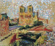 Notre Dame - Henri Matisse - Pointillism