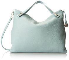 Bring pastels into your wardrobe with this sage Skagen Mikkeline satchel.