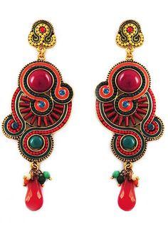 Brazilian Carnival Earrings
