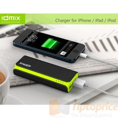 The Ultimate Shopping Gallery IDMIX DM-D52 5200mAh Firefly Power (bank)+Samsung battery