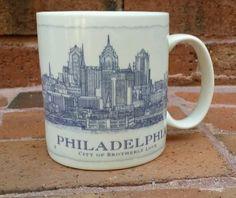 Starbucks Philadelphia Mug - Collectable - Rare Starbucks Advertising, Actifry Recipes, Philadelphia, Mugs, Tableware, Ebay, Dinnerware, Cups, Tumblers