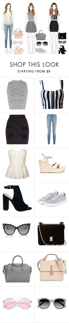 """""""Three different summer style"""" by hola-hi ❤ liked on Polyvore featuring WearAll, Topshop, Givenchy, Full Tilt, Barbour, Tom Ford, Valentino, Kendall + Kylie, summerstyle and summerfashion"""