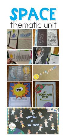 space thematic unit activities and ideas- great ideas for a space themed week or unit!