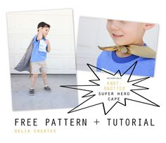 delia creates: Knot-Knotted Cape Tutorial + FREE Pattern