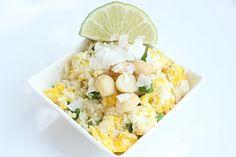 "Coconut-Lime Fried ""Rice"" & Macadamia Nuts"