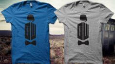 Doctor Who shirts!