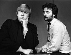 Young John Candy and Bill Murray (1973).