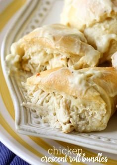 Chicken Crescent Roll Bundles   Really nice recipes. Every hour.   Show me what you cooked!