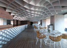 V'ammos Restaurant at Karaiskakis Stadium by LM Architects