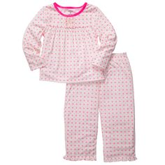 Desiree  2-Piece Jersey Pjs | Toddler Girl Pajamas