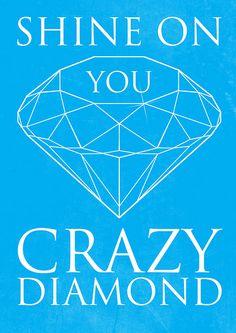 shine on you crazy diamond, pink floyd