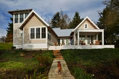 Pam McClaran and her husband, Don Evans, found plans for a smaller, smarter home from The Perfect Little House Company, down the road from t...