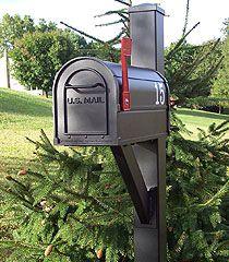Salsbury Mailbox Mailbox Installation, Address Plaque, Outdoor Decor