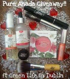 #PureAnada review and giveaway:  https://greenlifeindublin.blogspot.ie/2018/02/pure-anada-review-giveaway.html . Open internationally until 28th Feb 2018! The best of luck entering xo