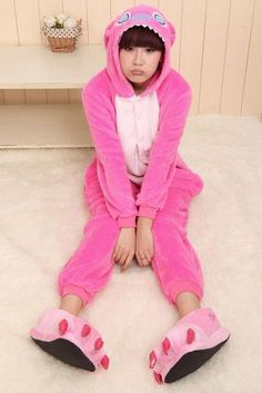 Unisex Adult Flannel Pajamas Animal Pyjama Suits Cosplay Adult Winter Garment Cute Cartoon Animal Pajama