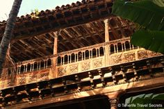 La Casa de Los Balcones is an architectonic pearl in the heart of La Orotava
